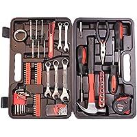 Cartman 148-piece Juego de herramientas–Kit de herramientas de mano General de Hogares con caja de herramientas de plástico caso de almacenamiento