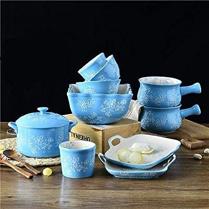 Piatti In Ceramica Per Bambini.Xzdxr Stoviglie Pratico Set Di Posate In Ceramica Per