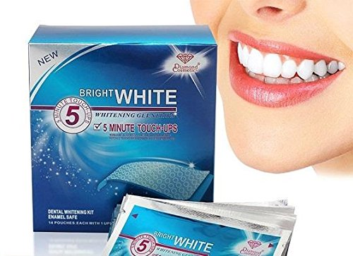 Bright-White-Professional-Teeth-Whitening-Strips-5-Minute-Results-Express-Teeth-Whitening-by-Sparkling-White-Smiles-and-Onuge-Teeth-Whitening-Includes-28-Strips-14-Upper-and-14-Lower
