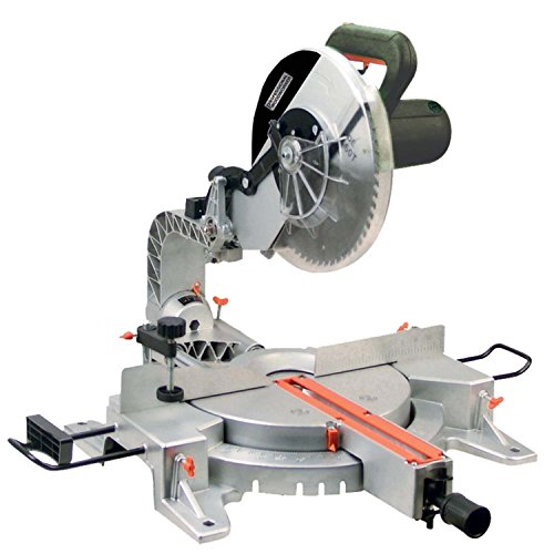 Professional Woodworker 8637 15 Amp 12-Inch Sliding Compound Miter Saw with Laser