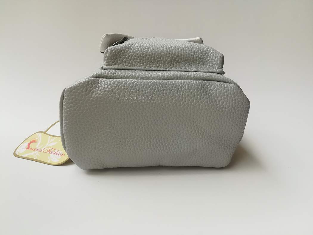 Sunwel Fashion Bag Outdoor Shopper School Bookbag Casual Shoulder Pu Tide Traveling Cute Bow Small Backpack