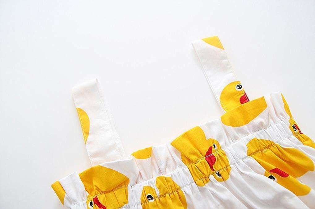 K-youth Ni/ña Tut/ú Princesa Vestido Ni/ña Verano Ropa Ni/ña Vestido Bebe Ni/ña Ceremonia Bautizo Fiesta Amarilla Pato Vestido de ni/ña bebe el pan del cord/ón jadea dos sistemas