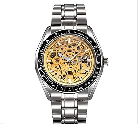 XXFFH Reloj Casual Digital Mecánica Solar De Los Hombres Reloj Automático Relojes Reloj Luminoso De Dos Caras De La Plantilla , 3: Amazon.es: Deportes y ...