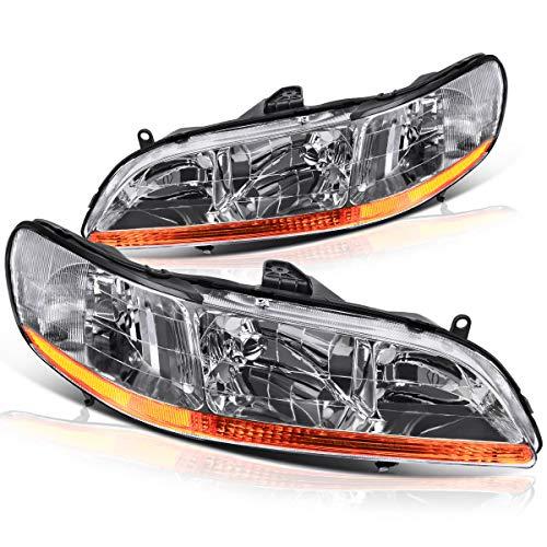 02 honda accord coupe headlights - 2