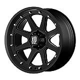 xd 17 inch rims 6 lug - XD Series by KMC Wheels XD798 Addict Matte Black Wheel (17x9