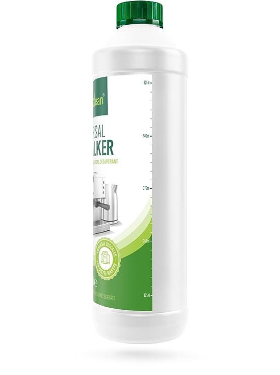 Descalcificador para máquinas de café- cafeteras - 750ml Descalcificante compatible con Delonghi Tassimo Jura Nespresso Seaco Dolce Gusto Siemens: ...