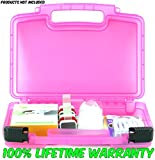 Baby Latches Case, Toy Storage Carrying Box. Figures Playset Organizer. Accessories for Kids by LMB