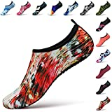 STEELEMENT. Water Yoga Shoes for Men Women Sports Socks Surfinf Shoes Stockings Hiking Climbing Swimming Athletic (S(US Size:Women:5.5-6.5,Men:5-5.5), WS32-36)