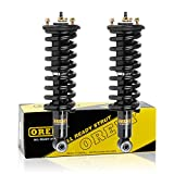 Front Pair Complete Quick Struts Shock Coil Spring Assembly Kit 171103 9214-0125 Compatible with 2005 2006 2007 2008 2009 2010 2011 2012 Nissan Pathfinder Xterra 2009 2010 2011 2012 Suzuki Equator