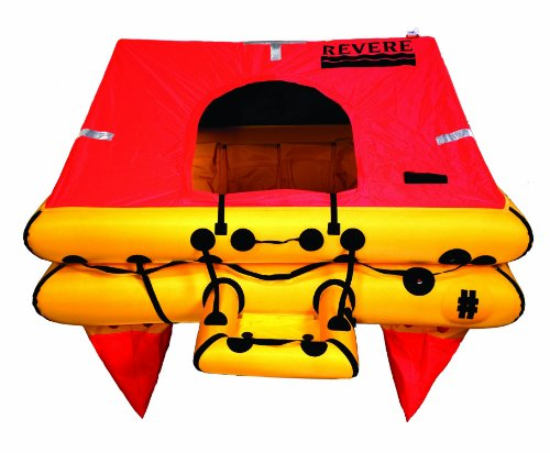 Life Valise Raft 4 Person (Revere Offshore Elite 4-Person Valise Liferaft)