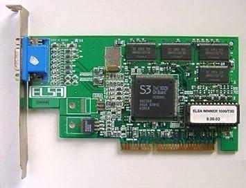 Tarjeta gráfica AGP Elsa Winner 1000/t3d id396: Amazon.es ...
