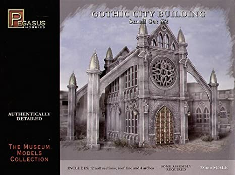 Amazon Pegasus Hobby Gothic City Building Small Set 2 Toys Games
