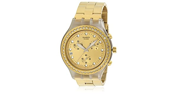 Amazon.com: Swatch ONE THOUSAND AND ONE Chronograph Ladies Watch SVCK4084G: Swatch: Watches