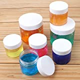 SGHUO 24 Pack Empty Slime Containers with