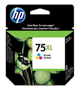 HP 75XL Tri-Color High Yield Original Ink Cartridge (CB338WN)