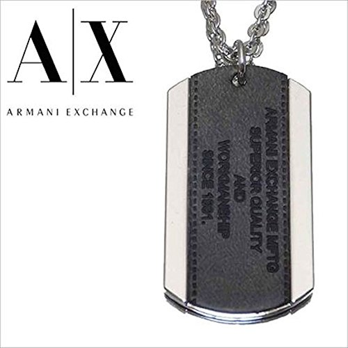 Armani Exchange AIX Logo Patch Dog Tag - Aix Armani