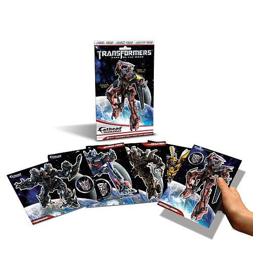 Fatheads Tradeables 5 x 7 Transformers