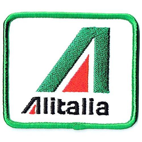 刺繍ワッペン 航空会社パッチ Alitalia