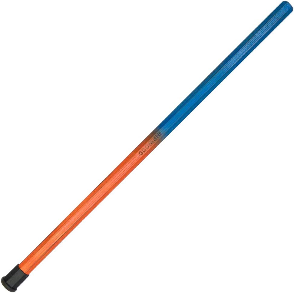 RipWood 850400007815 Wood Lacrosse Attack Shaft - Royal 青 and オレンジ