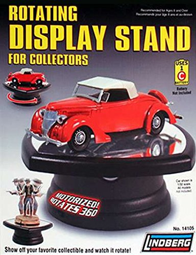 LINDBERG Wholesale Rotary Display Stand for 1/32 1/64 & 1/43 Scale Models