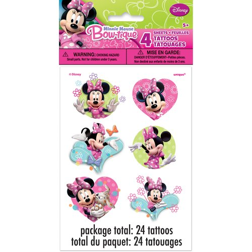 Unique 25377 Minnie Mouse Tattoos