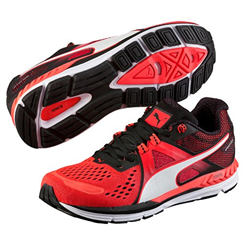 Rouge black 600 red Running Puma Mixte Adulte 06 white Speed Ignite YR1BAq1