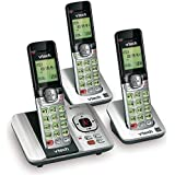 VTech CS6529-3 3-Handset Expandable Cordless Phone with Answering System-Caller ID/Call Waiting & Backlit Display/Keypad