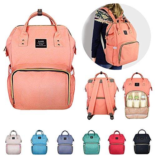 1PCs Mama Knapsack Mum Mammy Mommy Rucksack Mater Mamma Mom Momma Waterproof Baby Diaper Nappy Backpack Multifunctional Changing Bag