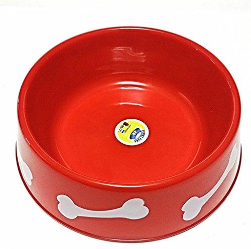 Yummy Paws 9 3 Quot Premium Lightweight Dog Bowl Plastic Pet