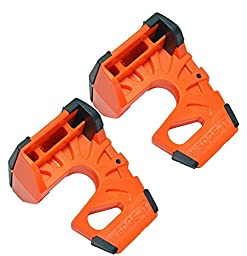 Wedge-It - The Ultimate Door Stop - Orange - TWO PACK