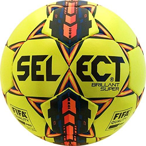 - Select Sport America Brillant Super Soccer Ball, Yellow, Size 5