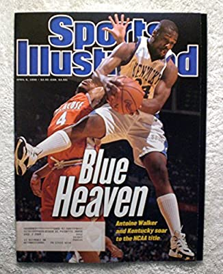 Antoine Walker - Kentucky Wildcats - 1996 National Champions! - Sports Illustrated - April 8, 1996 - Syracuse Orangemen - College Basketball - SI