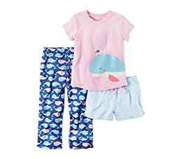 Carter\'s Girls\' 3-Piece Whale Set 3T