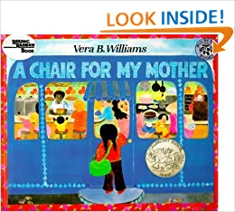 A Chair For My Mother Harcourt Brace BIG BOOK Vera B