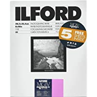 Ilford Multigrade IV RC DeLuxe Paper (Glossy, 8 x 10, 30 Sheets)
