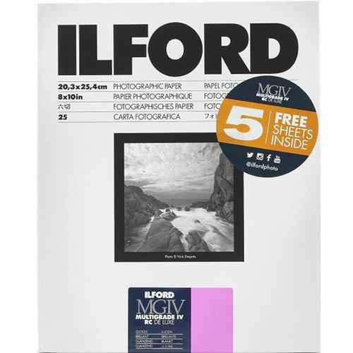 Ilford Multigrade IV RCデラックス用紙光沢、8 x 10インチ、30シート)   B0753MCKS7