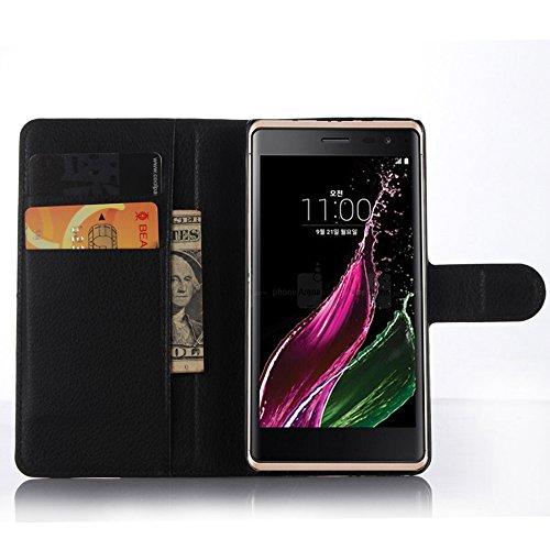 Funda LG Class/LG H740/LG F620,Manyip Caja del teléfono del cuero,Protector de Pantalla de Slim Case Estilo Billetera con Ranuras para Tarjetas, Soporte Plegable, Cierre Magnético B