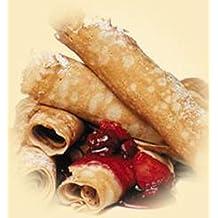 Cuisiner les crepes: toutes les recettes de crepes (French Edition)