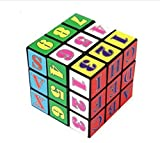 Liroyal New Style Fancy Rubik's Cube Baby Early Education Hexahedron Toy Intellectual Development Alphanumeric Rubik's Cube