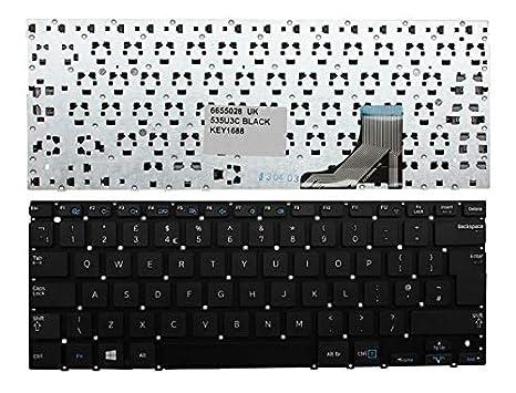 Samsung NP535U3C NP535U3C-A03DE Negro Windows 8 Inglés Teclado para Ordenador Portátil (PC) de Repuesto: Amazon.es: Electrónica