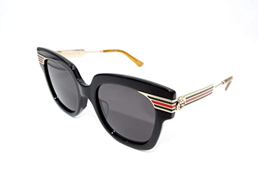 6a2c109e4548 Image Unavailable. Image not available for. Color: GUCCI WEB 0281 Gold Metal  Etched Tortoise Runway Sunglasses