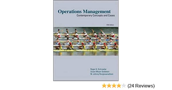 Operations Management Contemporary Concepts And Cases 5th Edition Pdf