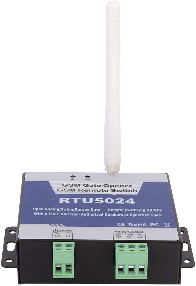 TOPINCN Offene T/ür Fernbedienung T/ür/öffner Funkschalter DC 9-15V Relais intelligente Garage Fernbedienung T/ür/öffner RTU5024
