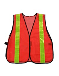 Graintex Reflective Safety Vest, One Size, Orange