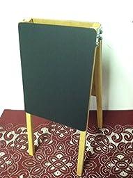 Table Top Easel Double Side Black Chalkboard 9\