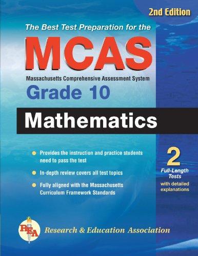 MCAS Mathematics Grade 10 (Massachusetts MCAS Test Preparation)