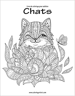Livre De Coloriage Pour Adultes Chats 2 Amazonfr Nick Snels Livres