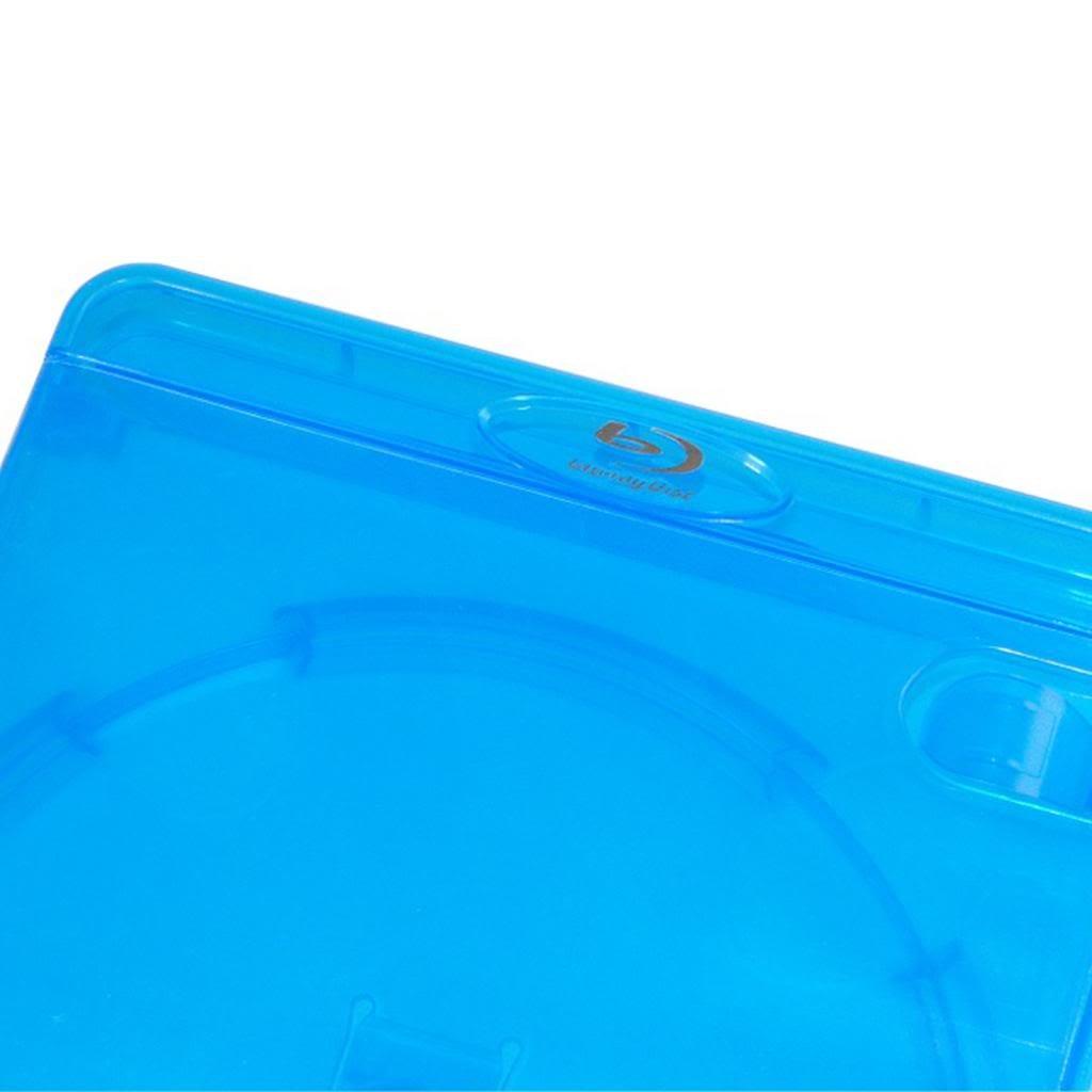 dorso da 14mm Custodie per dischi Blu-Ray confezione da 10 Amaray