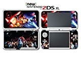 Star Wars The Force Awakens Last Jedi Video Game Vinyl Decal Skin Sticker Cover for Nintendo New 2DS XL System Console