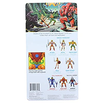 Super7 Masters of The Universe Vintage Collection Wave 2 | Beast Man: Toys & Games